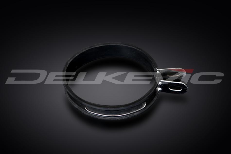 Delkevic France Collier de silencieux en acier inoydable avec caoutchou