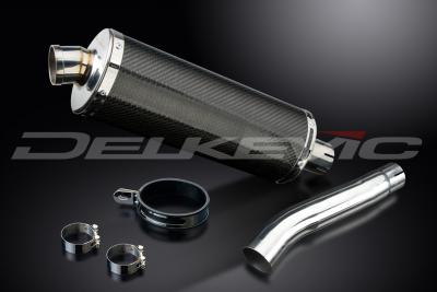 OVAL 350mm CARBON FIBRE S.R.E.SILENCER GSX-R600 / 750 08-11
