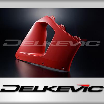 CBR900RR FIRE BLADE 94-97 R/H MIDDLE COWL RED (INJECTION MOULDED)
