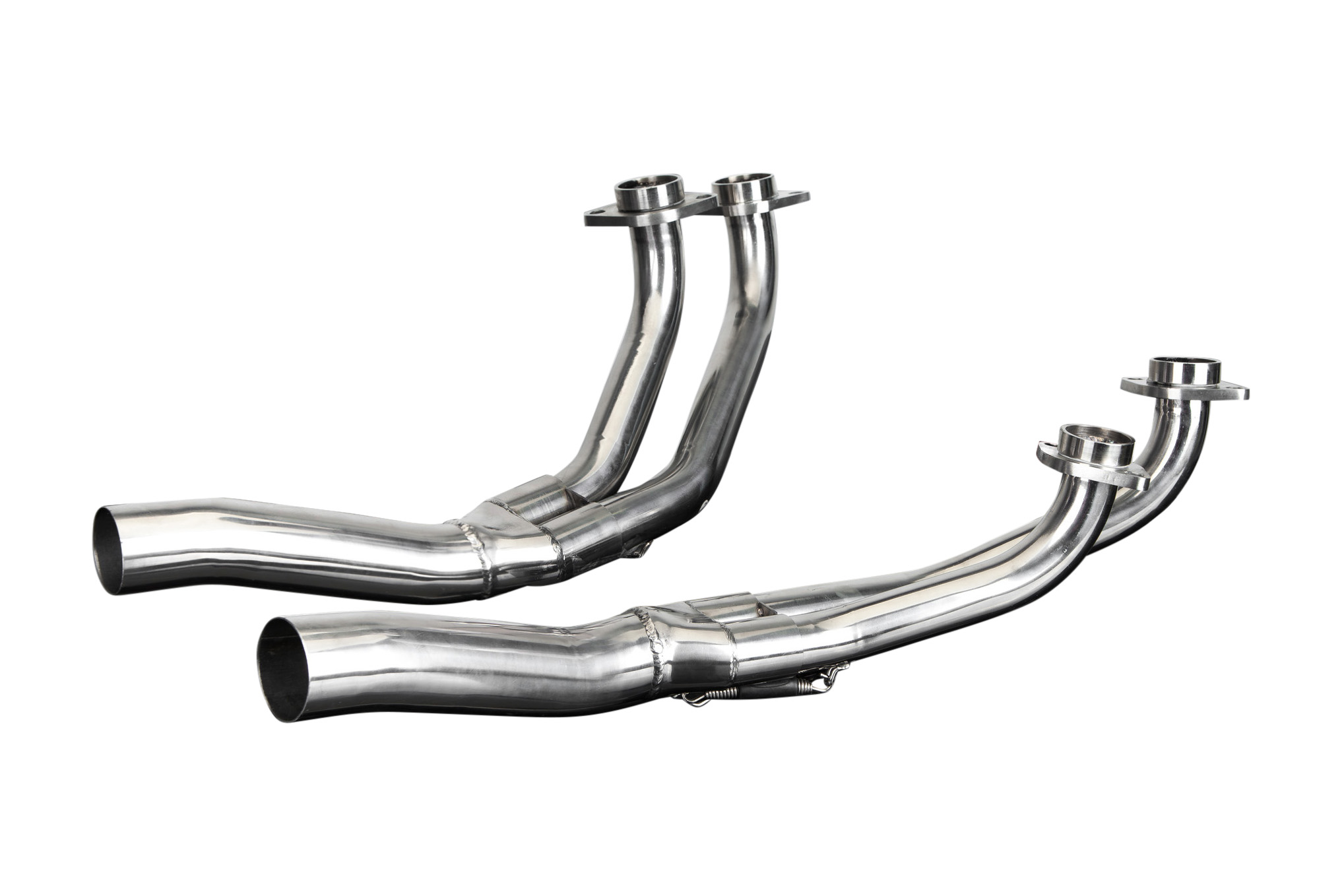 stainless downpipes header exhaust manifold honda gl1000k