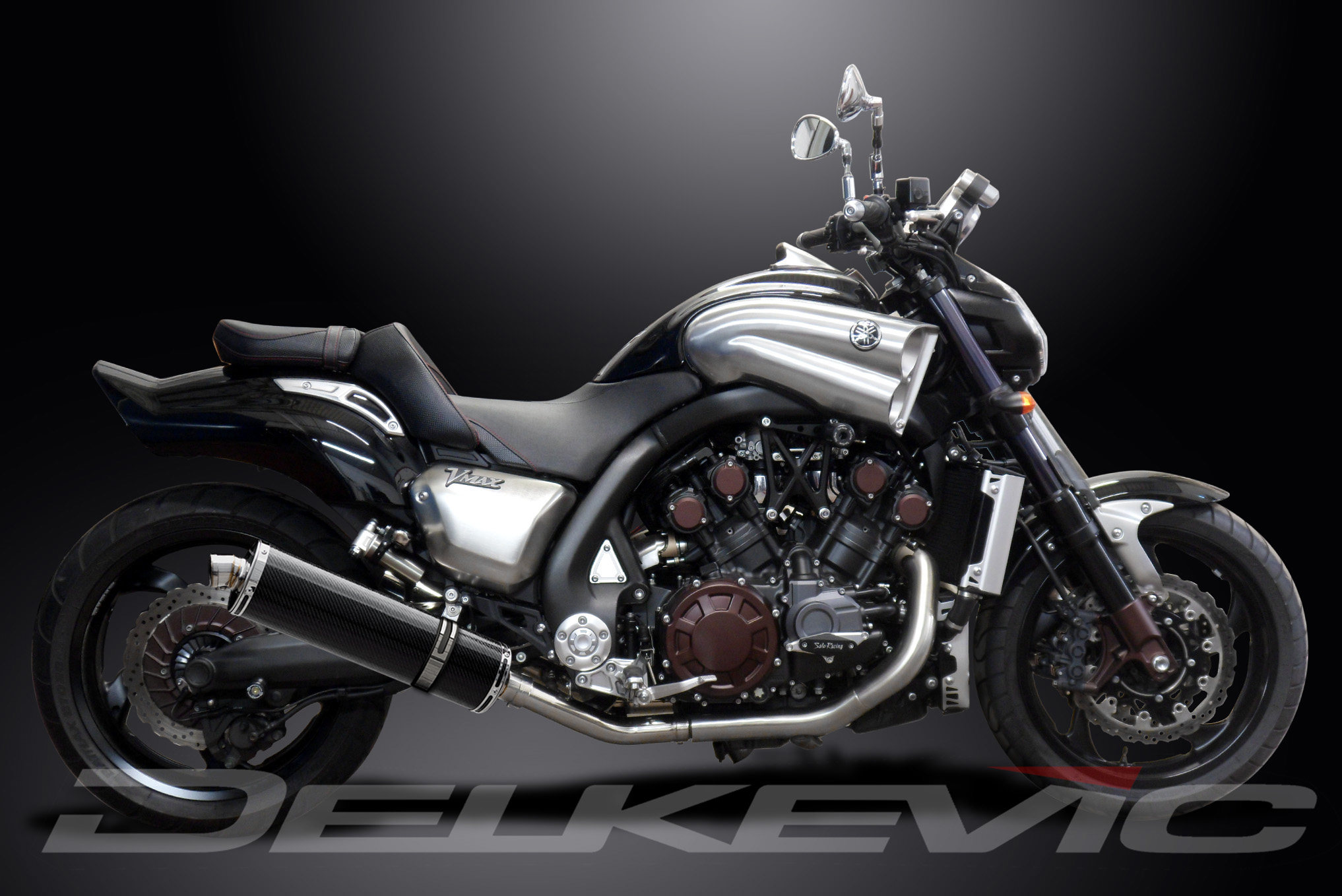 Details about Yamaha VMAX 1700 De-Cat Pipe 18