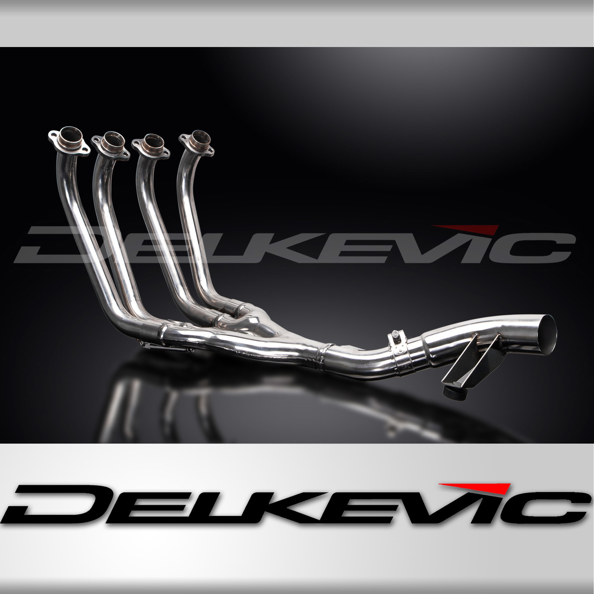 YAMAHA XJ600 DIVERSION 92-04 STAINLESS STEEL 4-1 EXHAUST DOWNPIPES OEMCOMPATIBLE